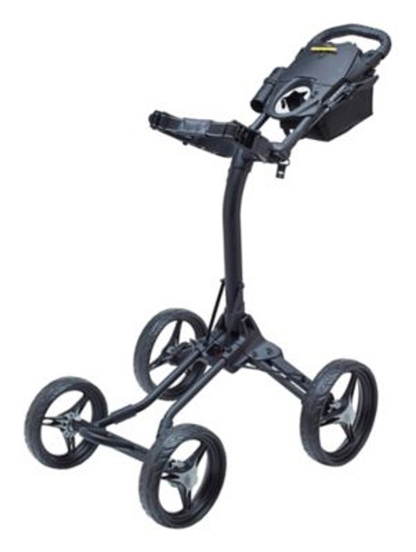 Quad XL Push Cart - Silver/Black-4036823