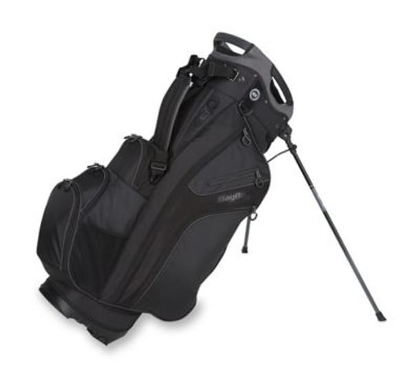Chiller Hybrid Golf Stand Bag - Black/Charcoal-4036826