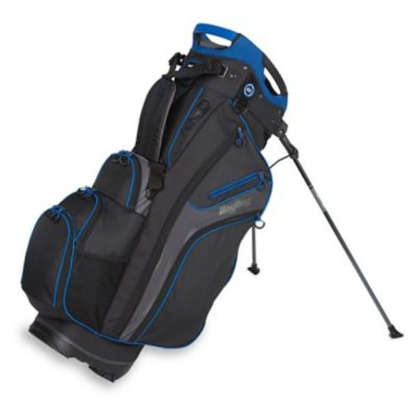 Chiller Hybrid Golf Stand Bag - Black/Charcoal/Royal-4036829