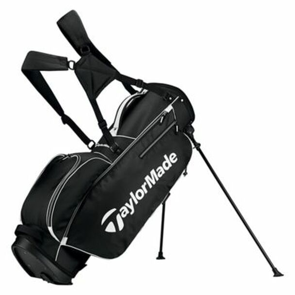 5.0 Stand Golf Bag - Black/White-4036844