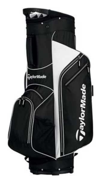5.0 Cart Golf Bag - Black/White-4036847