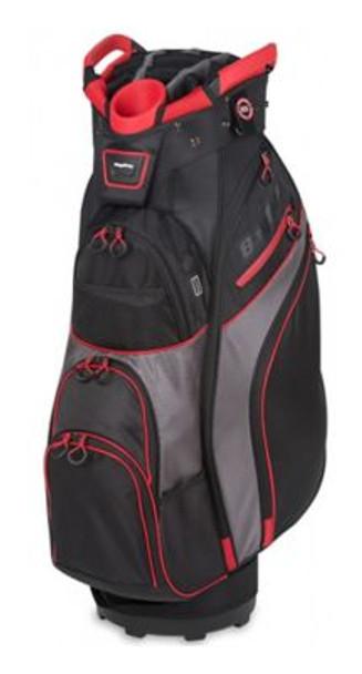 Chiller Cart Golf Bag - Black/Charcoal/Red-4036854