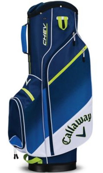 Chev Cart Bag - White/Blue/Neon Green-4036863