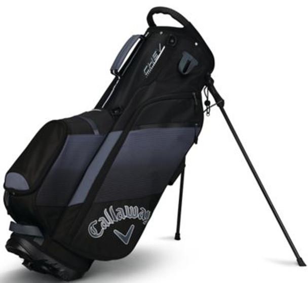 Chev Stand Bag - Black/Titanium/White-4036866