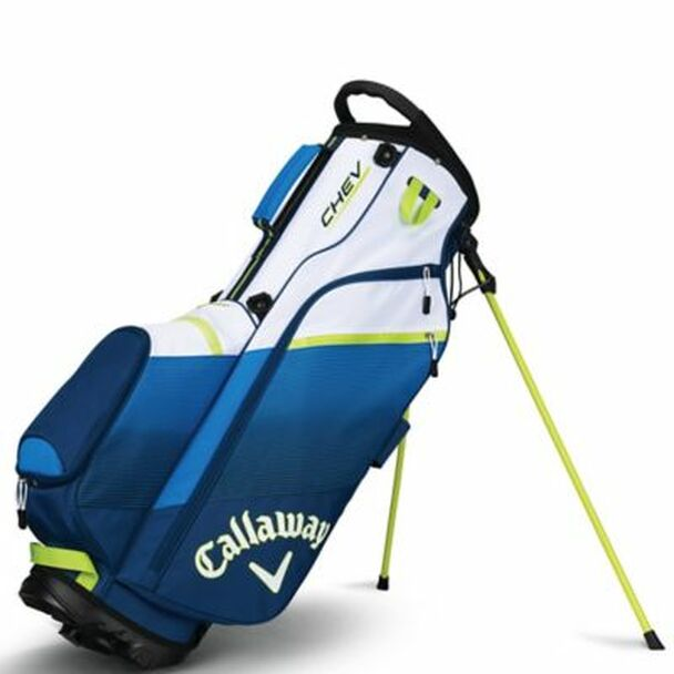 Chev Stand Bag - Navy/Blue/Neon Green-4036868