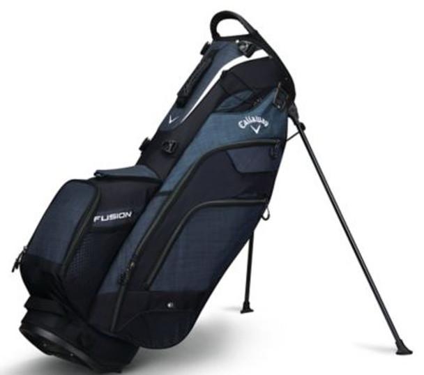 Fusion 14 Stand Bag - Black/Titanium/White-4036869