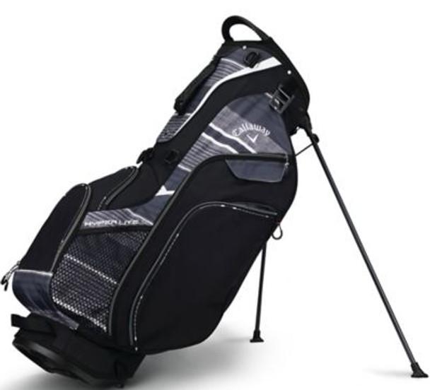 Hyper Lite 5 Stand Bag - Black/Titanium/White-4036873