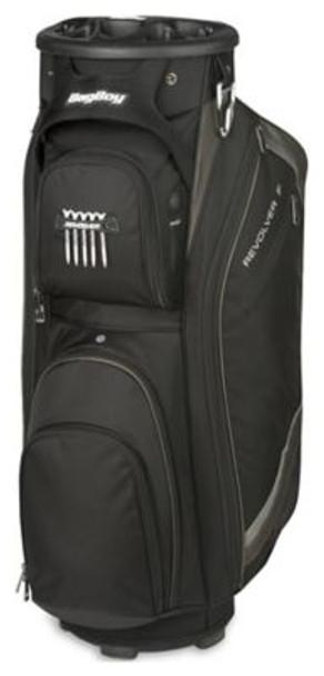 Revolver FX Cart Golf Bag - Black/Charcoal/Silver-4036879