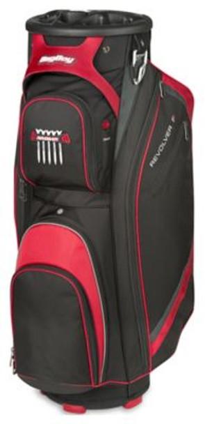 Revolver FX Cart Golf Bag - Black/Red/Silver-4036880
