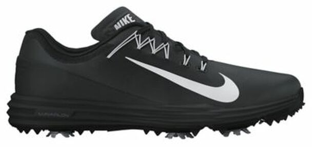 Lunar Command 2 Men's Golf Shoes - Black/White-4036959