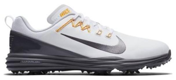 Lunar Command 2 Men's Golf Shoes - White/Dark Grey-4036962