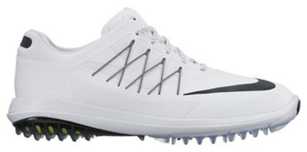 Lunar Control Vapor Men's Wide Golf Shoes - White/Black-4036966