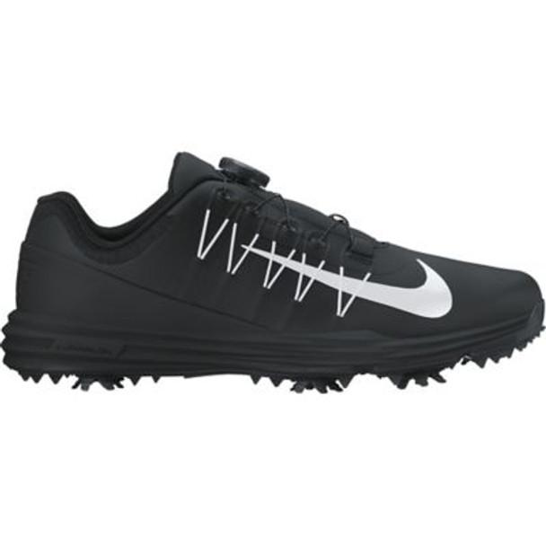 Lunar Command 2 Men's BOA Golf Shoes - Black/White/Black-4036969