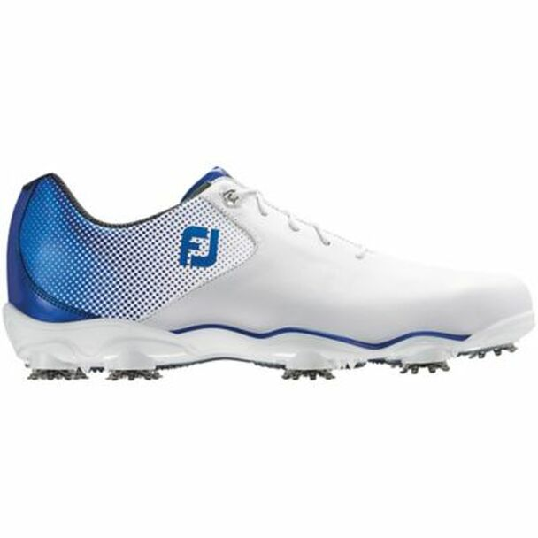 D.N.A. Helix Men's Golf Shoes - White/Blue-4037015