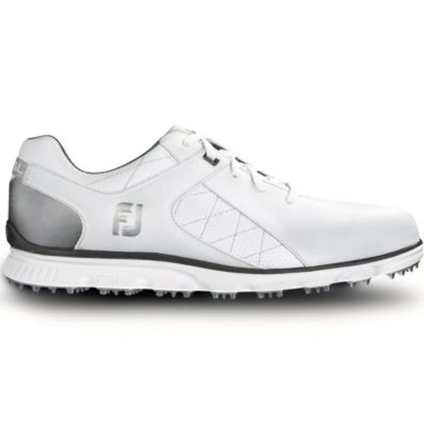Pro SL Men's Golf Shoes - White/Silver-4037017