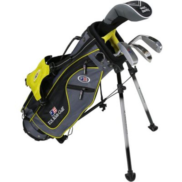 Golf UL42-u 4 Club Stand Set - Grey/Yellow Bag-4037168