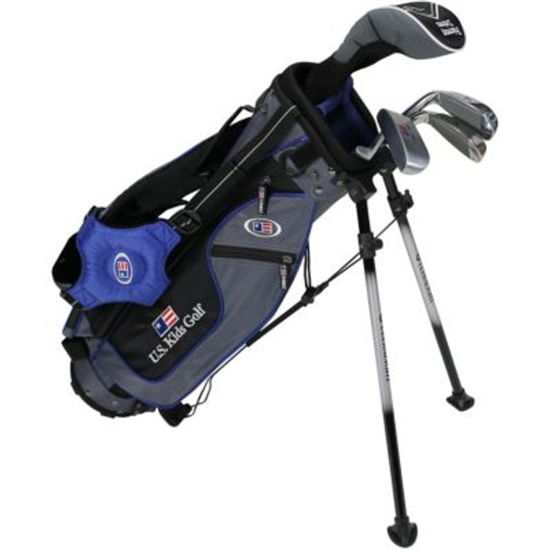 Golf UL45-u 4 Club Stand Set - Grey/Blue Bag-4037170