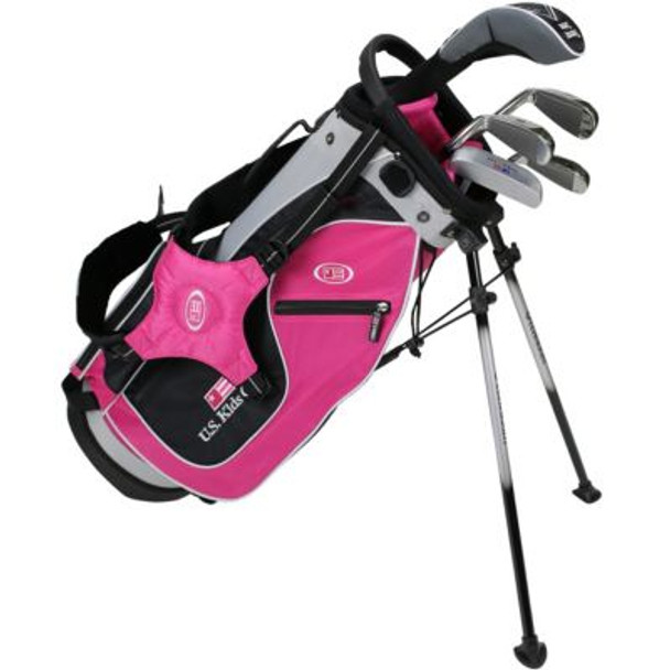 Golf UL48-u 5 Club Stand Set - Pink/Black/Silver Bag-4037173
