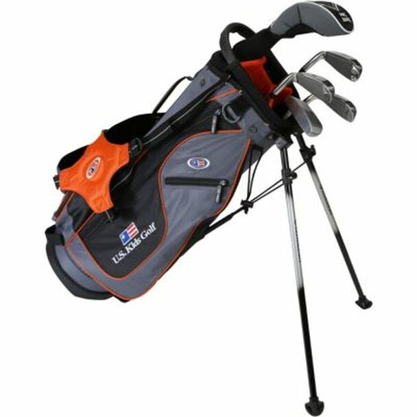 Golf UL51-u 5 Club Stand Set - Grey/Orange Bag-4037174