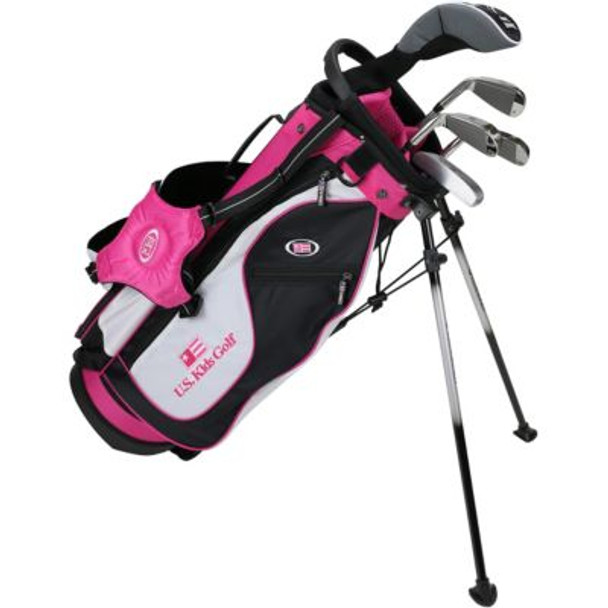 Golf UL51-u 5 Club Stand Set - Black/White/Pink Bag-4037175
