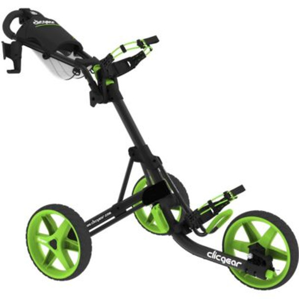 Model 3.5+ Push Cart - Charcoal/Lime-4037200