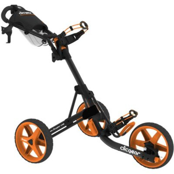 Model 3.5+ Push Cart - Charcoal/Orange-4037201