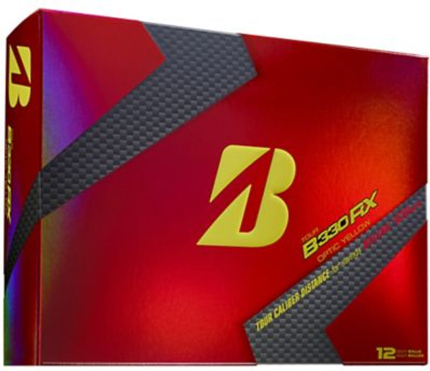 B330RX Yellow Golf Balls - 1 Dozen-4037210
