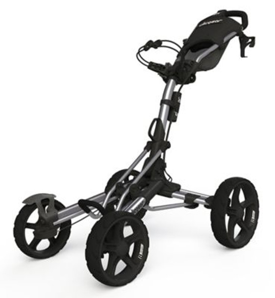 Model 8.0 Golf Push Cart - Silver-4037214