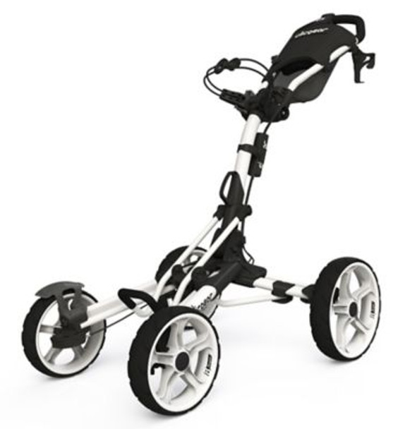 Model 8.0 Golf Push Cart - White-4037215