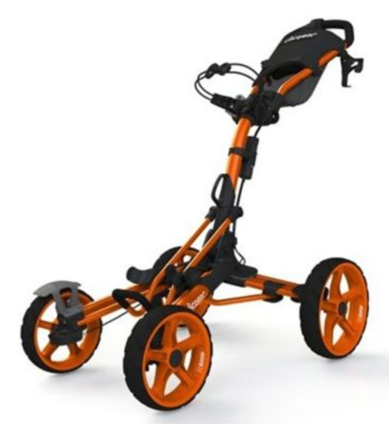 Model 8.0 Golf Push Cart - Orange-4037217