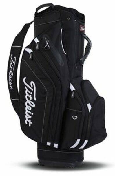 Lightweight Cart Golf Bag - Black-4037246