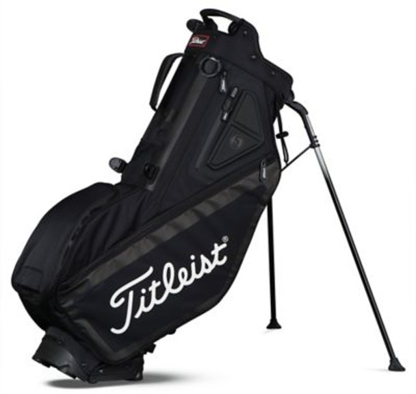 Players 5 Stand Golf Bag - Black-4037247