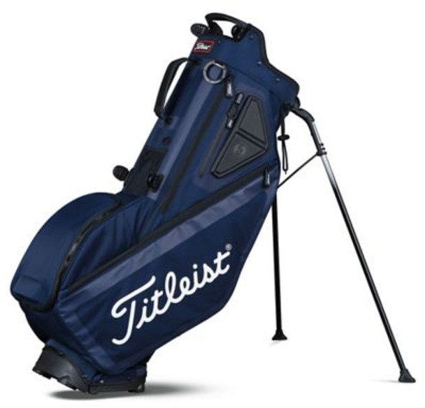 Players 5 Stand Golf Bag - Navy-4037249