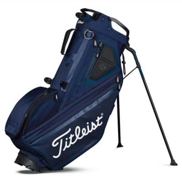 Players 14 Stand Golf Bag - Navy-4037253