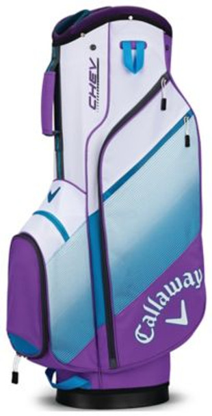 Chev Cart Bag - Violet/Teal/White-4037286