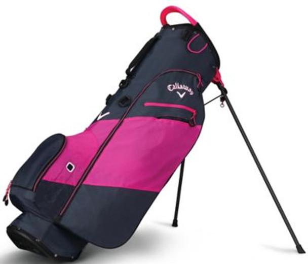 Hyper Lite Zero Stand Bag - Titanium/Pink/White-4037290