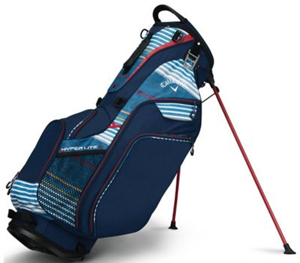 Hyper Lite 5 Stand Bag - Navy/Red/White-4037293