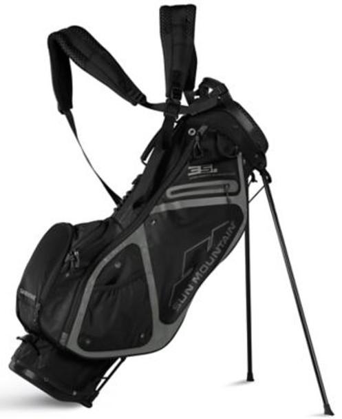 3.5 LS Golf Stand Bag - Black-4037305