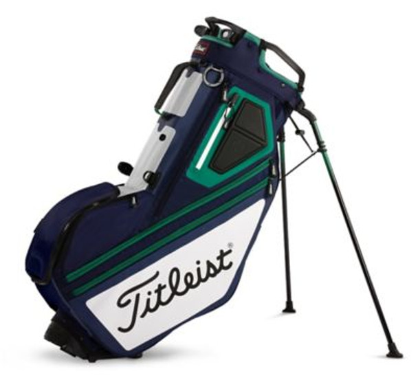 Players 14 Stand Golf Bag - Navy/Nimbus Cloud/Hunter Green-4037319
