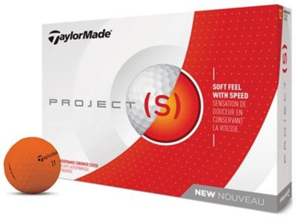 2018 Project (s) Matte Orange Golf Balls - 1 Dozen-4037374