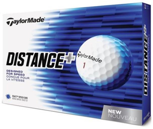 2018 TM Distance+ Golf Balls - 1 Dozen-4037375