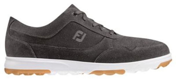 Golf Casual Men's Golf Shoes - Slate Waxed Suede-4037537