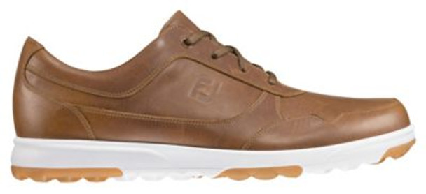 Golf Casual Men's Golf Shoes - Taupe Smooth-4037538