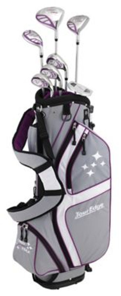 Lady Edge 2018 Silver/Purple Half Box Set - Stand Bag-4037574