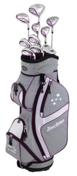 Lady Edge 2018 Silver/Purple Full Box Set - Cart Bag-4037577