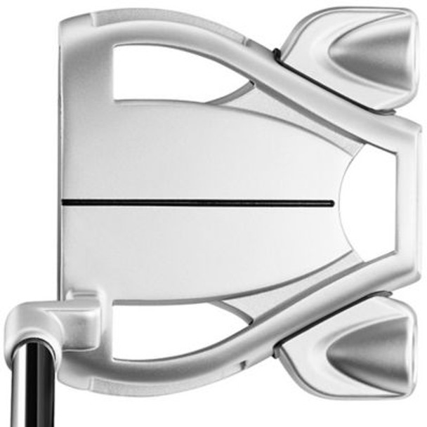 Spider Tour Diamond Silver L Neck Lined Putter-4037689