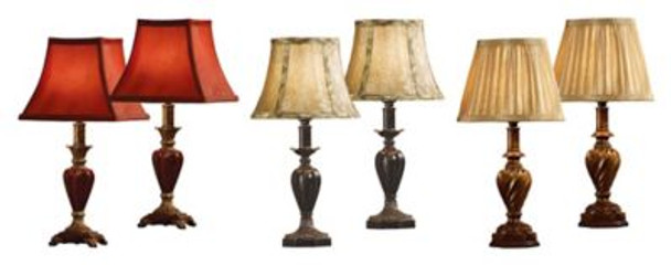 Accent Lamp Assortment - Set of 6-4051253