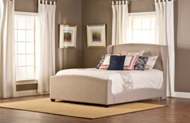 Barrington Queen Bed Set with Rails-4053420
