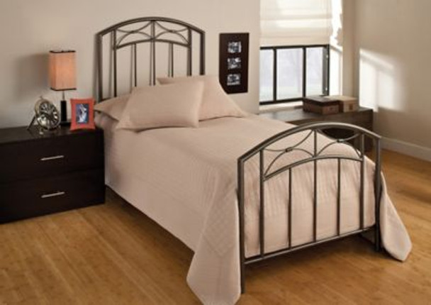 Morris Twin Bed Set with Frame-4053649