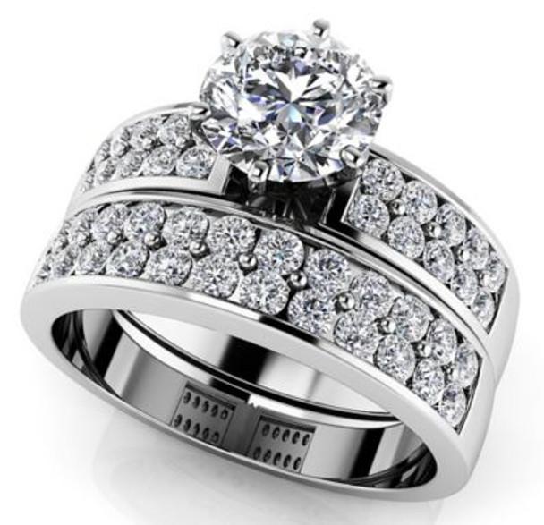 Diamond Bridal Set-4128335